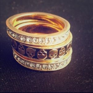 Stackable rings - Set of 3